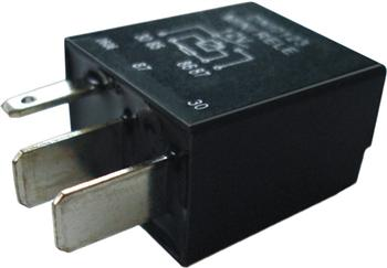 (DNI-0125) MINI RELE AUX.C/2 TERM.3MM E 2 TE
